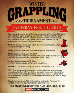 2017 Winter Grappling Tournament