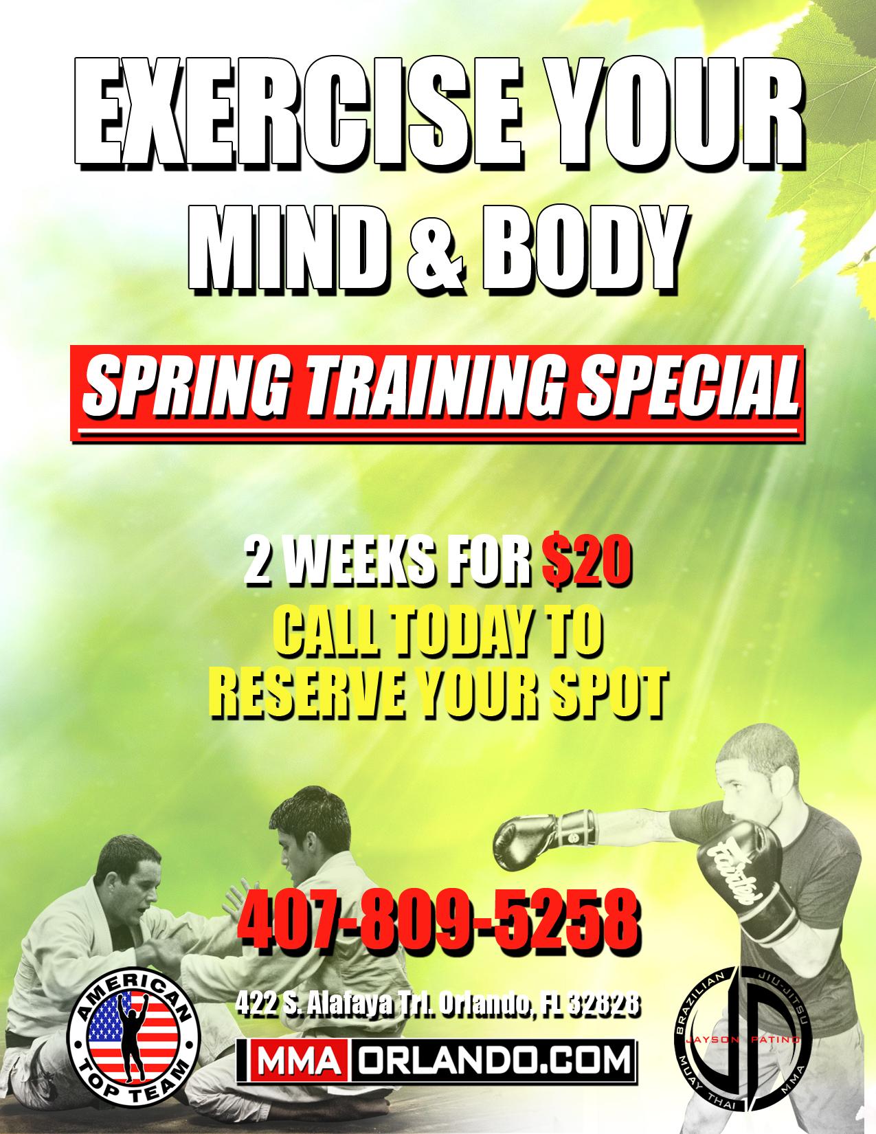 Training Special